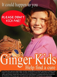 ginger minger meaning