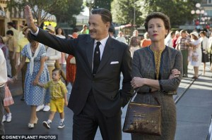 Hanks and Thompson, as DIsney and Travers