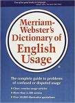 Merriam - Webster's Dictionary of English Usage